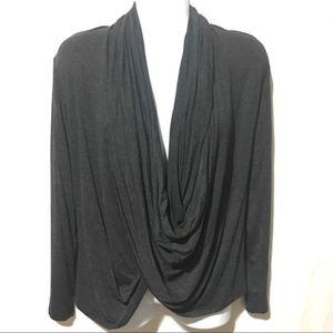 💎 Loveappella infinity wrap deep v neck soft top